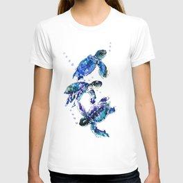 Three Sea Turtles T-shirt