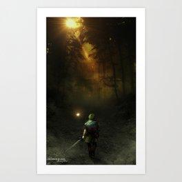 Minuet of Forest Art Print
