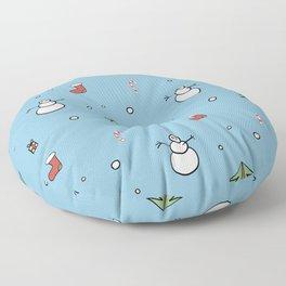 Christmas spirit Floor Pillow