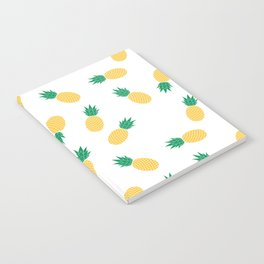 PINEAPPLE ANANAS FRUIT FOOD PATTERN Notebook