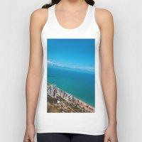 brazil Tank Tops featuring Brazil Beach by Mauricio Santana