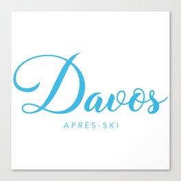 DAVOS Canvas Print