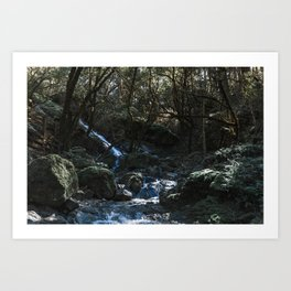 Chase the Waterfalls cataract falls California Bay Area Photograph Art Print