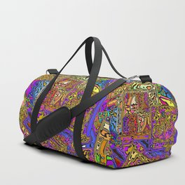 Colorful CD Cases Duffle Bag