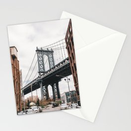 Manhattan Bridge, New York City Stationery Cards