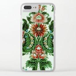 Bouquet Floral Wallpaper Clear iPhone Case