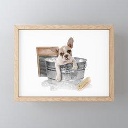 Rub-a-dub-dub Framed Mini Art Print