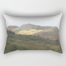 There's gold in the hills - Kinlochleven, Scotland Rectangular Pillow