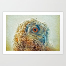 PROF-OWL Art Print