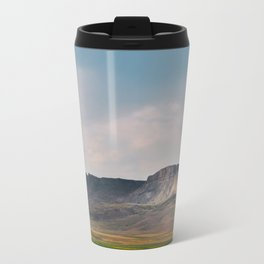 Evening at Square Butte Travel Mug