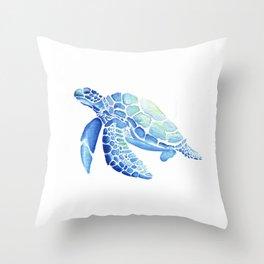 Turtle - Rising Throw Pillow