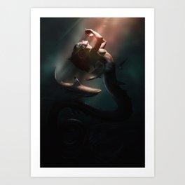 Surface Light Art Print