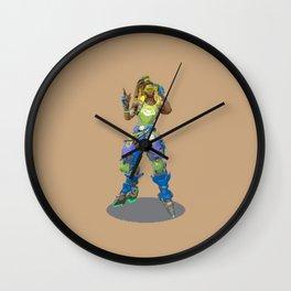Pixel Lucio Wall Clock