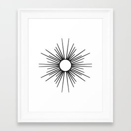 Radiance Framed Art Print
