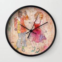 Da-da-da dance Wall Clock