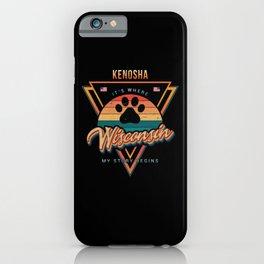 Kenosha Wisconsin iPhone Case