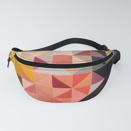 Abstract Geometric Art Colorful Design 508 Fanny Pack