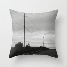 journey + destinations Throw Pillow