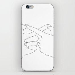 Together Forever iPhone Skin