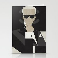 karl Stationery Cards featuring Karl by B_U_R_T