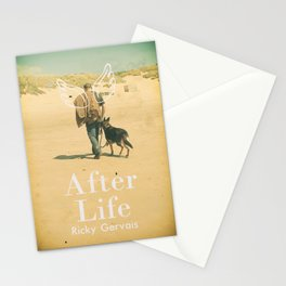 After Life poster, Ricky Gervais, tv series, after-life, British black comedy Stationery Cards