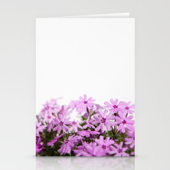 phlox {pink} Stationery Cards