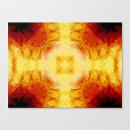 Magma Shrine Canvas Print