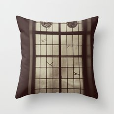 Window Glass Chicago Original Photo Throw Pillow
