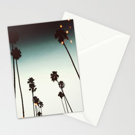 Bokeh Palms Stationery Cards