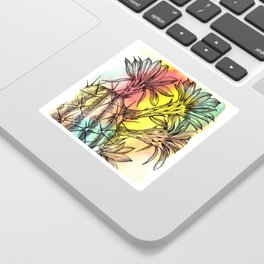 Plant Series: Desert Cactus Sticker