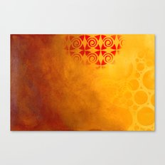 Pattern in a sandstorm Canvas Print