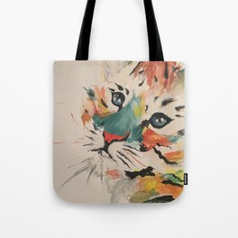 Water color baby tiger Tote Bag