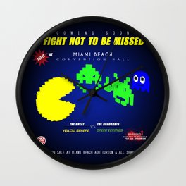 Fight ! Wall Clock