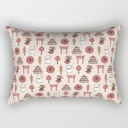 Japanese pattern Rectangular Pillow