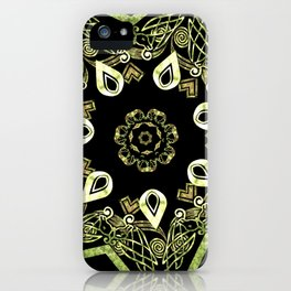 Celtic Star Pattern iPhone Case