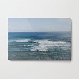 Where the Sky Meets the Sea in Hawaii Metal Print