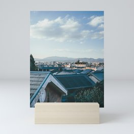 Kyoto Rooftops II Mini Art Print