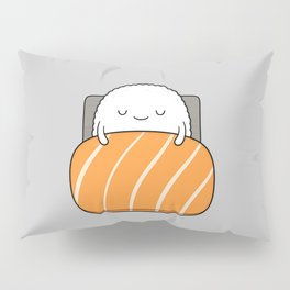 sleepy sushi Pillow Sham