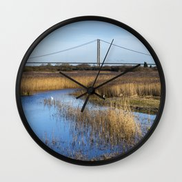 View from a Hide Wall Clock