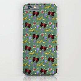 Time Traveler Princess Pattern iPhone Case