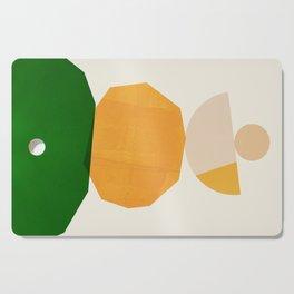 Abstraction_Balance_ROCKS_Minimalism_003 Cutting Board