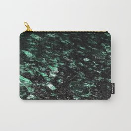 The Jade Sleeping Beneath the Black Granite Carry-All Pouch