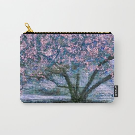 blue ART Carry-All Pouch