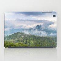 indonesia iPad Cases featuring Mt Batur - Bali, Indonesia by Jennifer Stinson