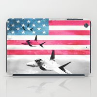 patriots iPad Cases featuring United States Air Force(USAF) by MachoGifts