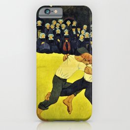 Breton Wrestling - Paul Serusier iPhone Case