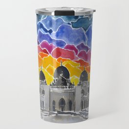 Sheikh Zayed Grand Mosque, Abu Dhabi, UAE Travel Mug