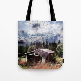 Broken house Tote Bag