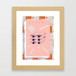 """""""E"""" of DREAMS Framed Art Print"""