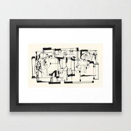 Start From Scratch Framed Art Print